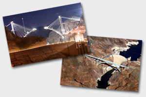 Dam & Bridge Postcards Available