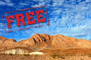 Free Entry to Lake Mead National Recreation Area near Boulder City, Nevada