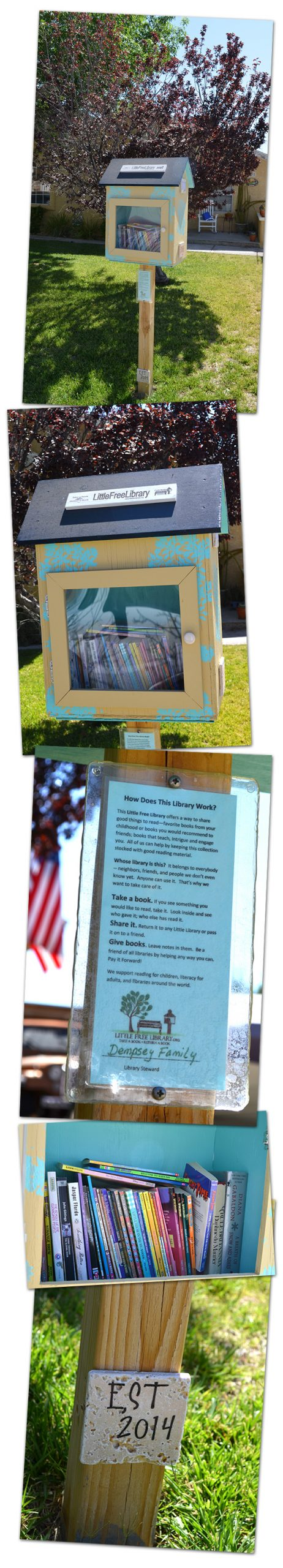 Little Free Library in Boulder City, NV