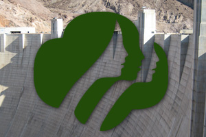 Girl Scouts at Hoover Dam