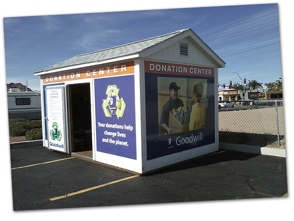 Goodwill Donations at Vons in Boulder City, Nevada