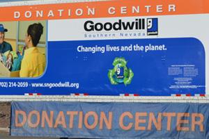 Goodwill Truck in Boulder City, Nevada