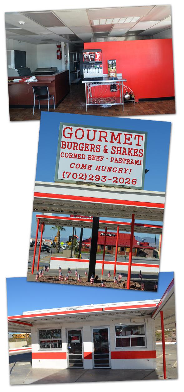 Gourmet Burger in Boulder City, Nevada