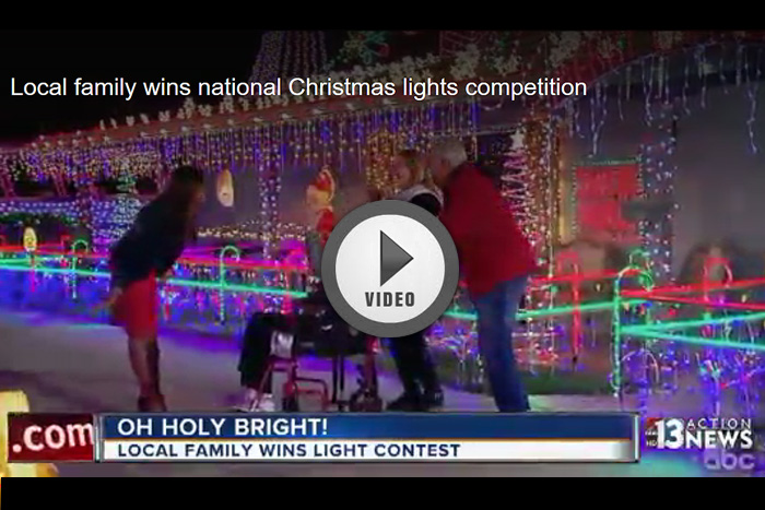 Great Christmas Light Fight Win in Boulder City, Nevada