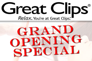 Great Clips Grand Opening in Boulder City, NV