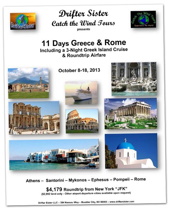 Greece Fundraising Trip for Boulder City Non-profits