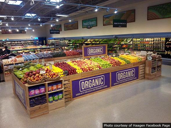 Haagen Produce Section