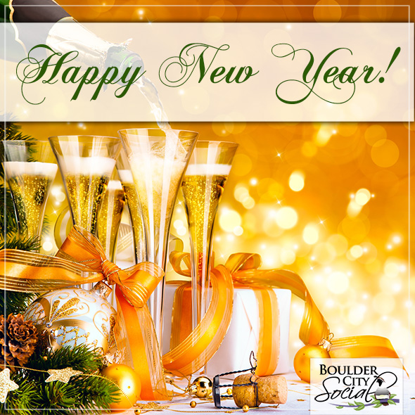 Happy New Year in Boulder City, Nevada