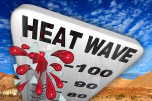 High Desert Heat near Boulder City, Nevada