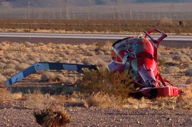 Helicopter Crash in Boulder City, Nevada