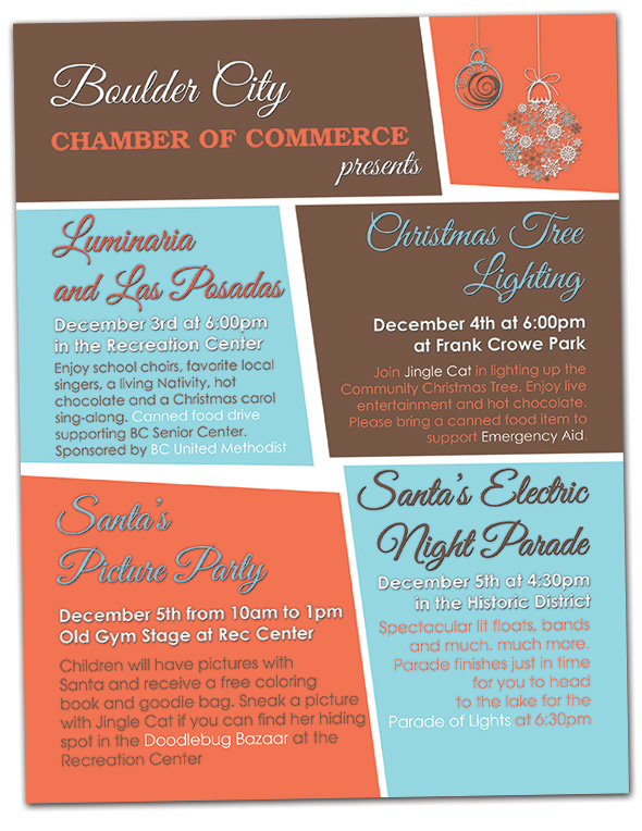 2015 Holiday Events in Boulder City, Nevada