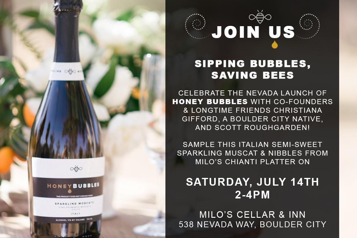Milo's Honey Bubbles Event Boulder City, NV