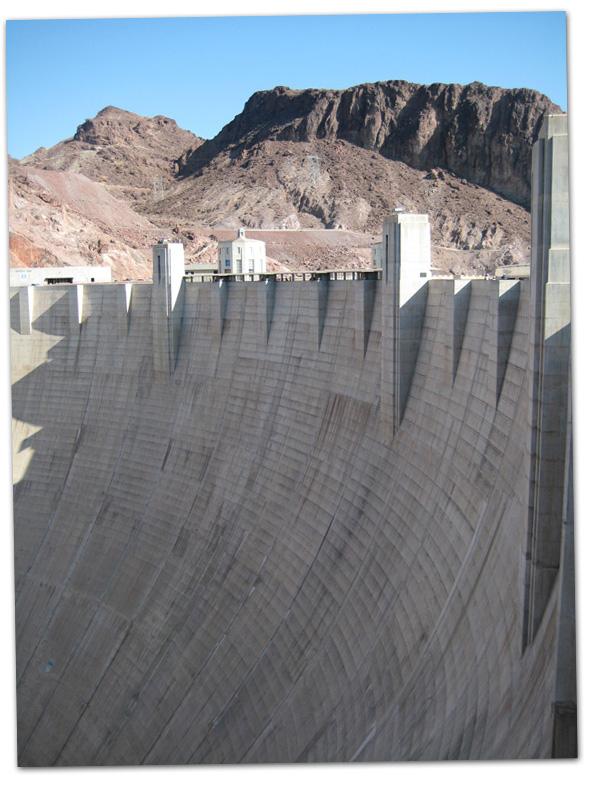 Hoover Dam near Boulder City, Nevada
