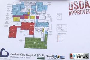 Boulder City Hospital Blueprint Signing Ceremony