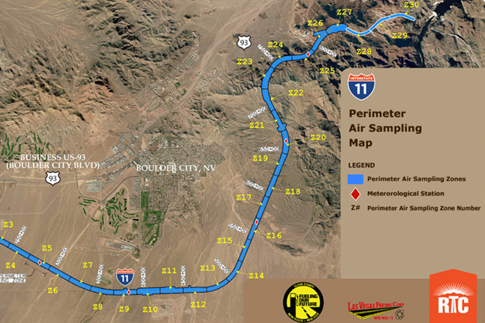 I-11 Air Quality Monitoring Near Boulder City, Nevada