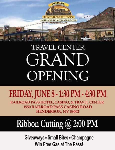 Travel Center Flyer Boulder City, Nevada