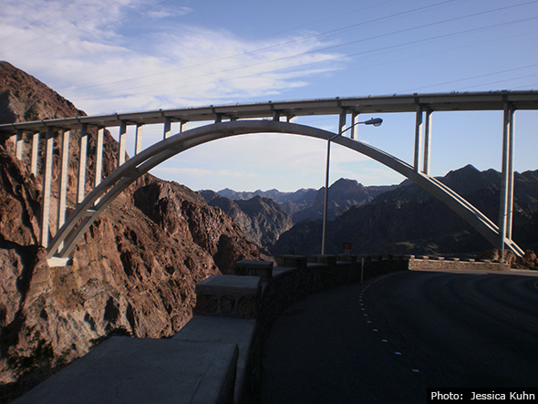 Jessica Kuhn Tillman Bridge near Boulder City, Nevada