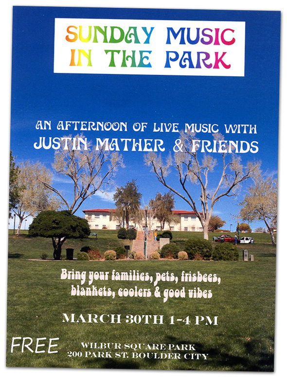 Sunday Music In The Park in Boulder City, NV