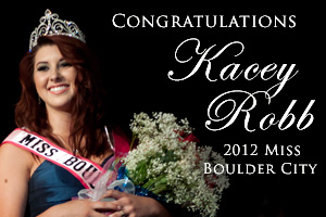 Kacey Robb - Miss Boulder City 2012