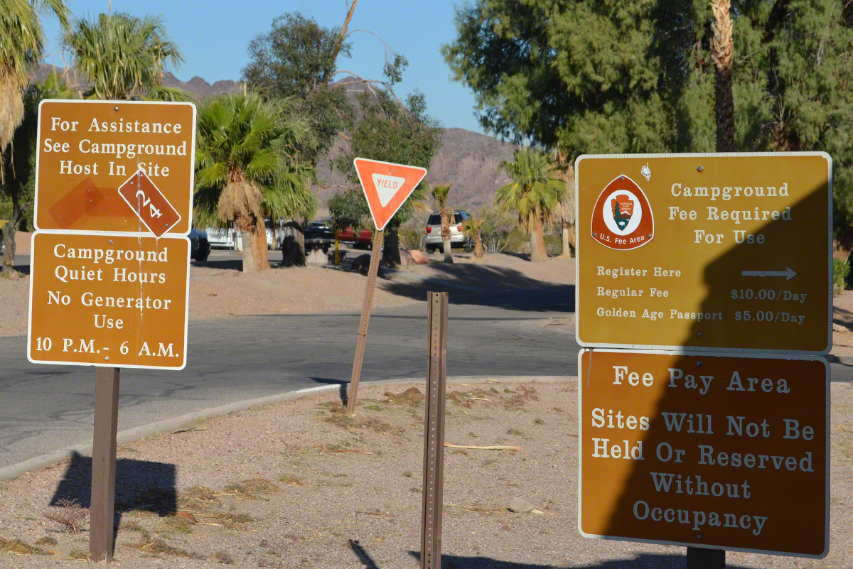Lake Mead Campground Near Boulder City, Nevada