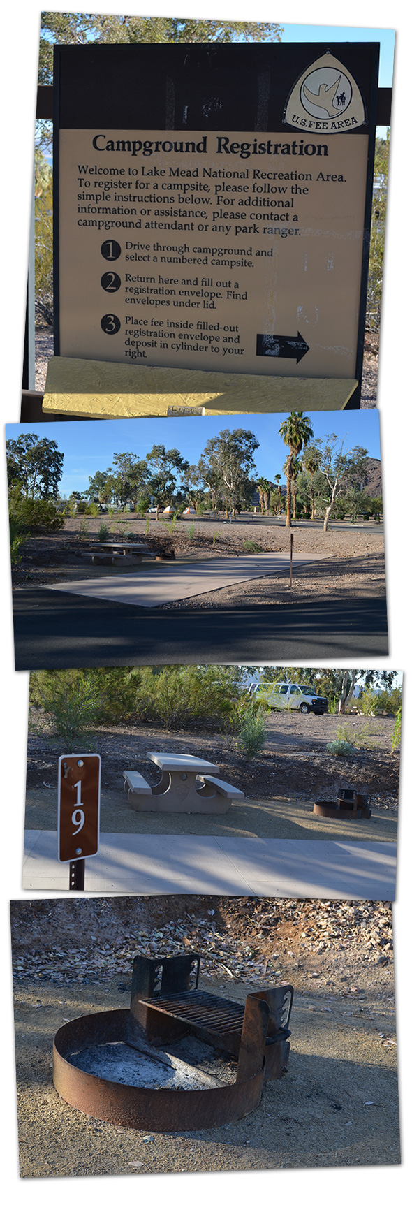 Camping at Lake Mead Recreation Area