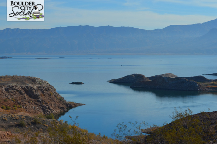 Overlooking Lake Mead Near Boulder City, Nevada