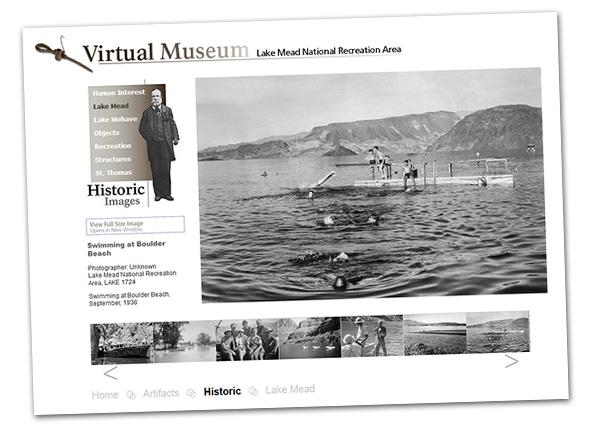 Lake Mead Virtual Museum near Boulder City, NV