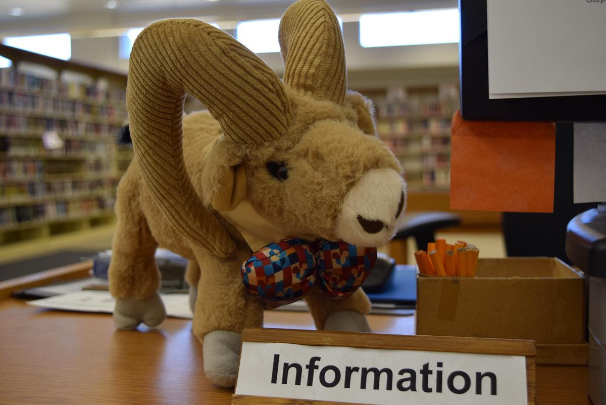 Boulder City Library Mascot