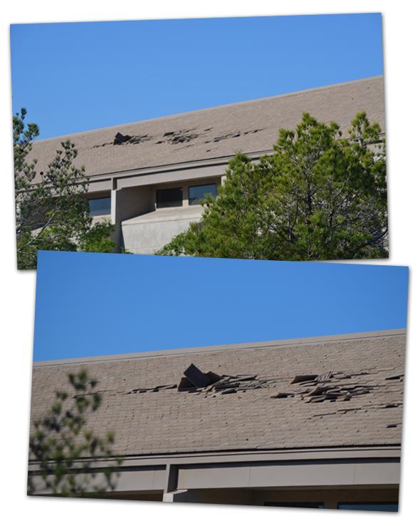 Boulder City Library Roof Damage