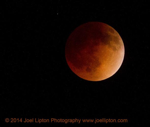 Lunar Moon 2014 by Joel Lipton