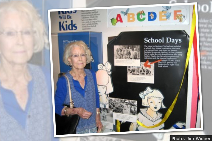 Mary Jane Carter Richey Smith at Boulder City High School Reunion