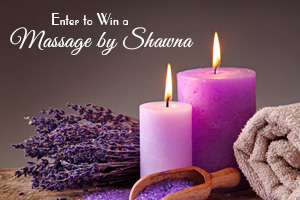 Win 1 of 2 Massages by Shawna