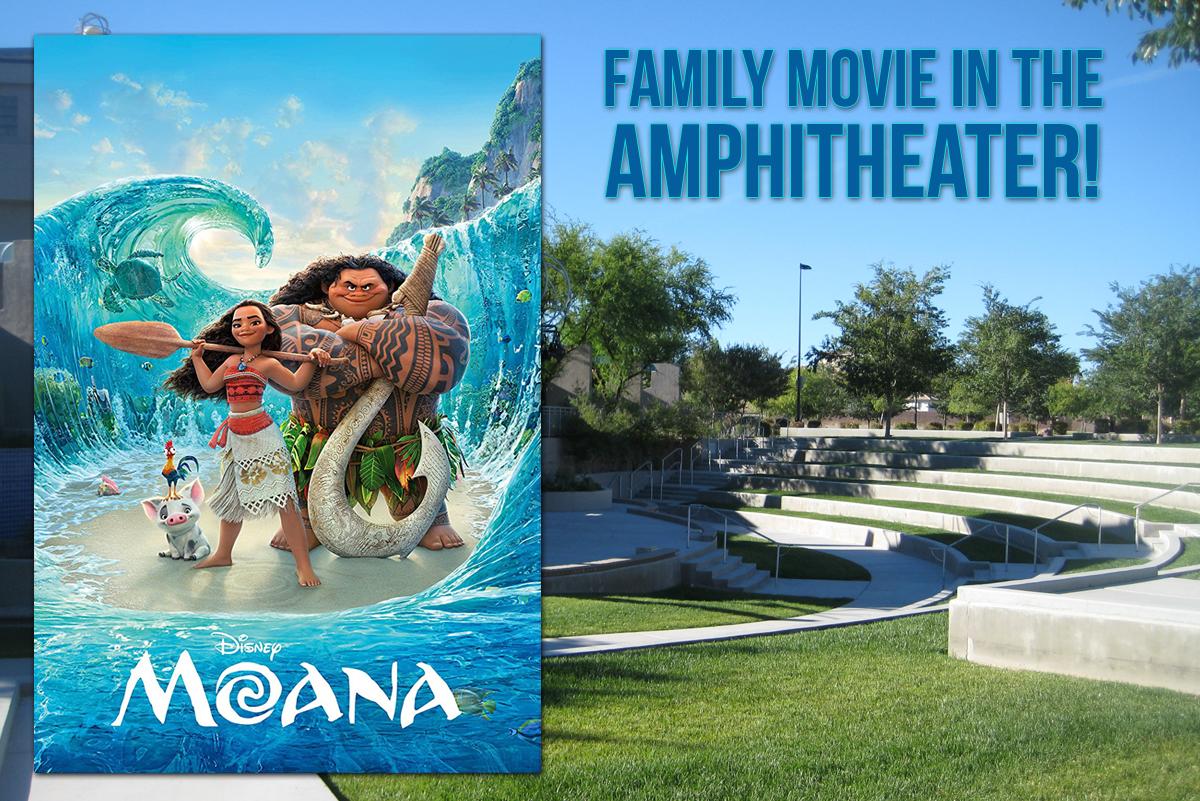 Disney's Moana Family Movie at Boulder City Library