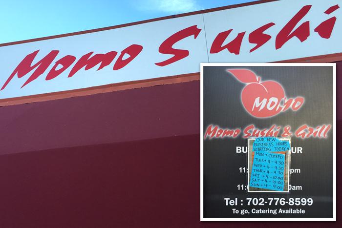 Momo Sushi in Boulder City, NV