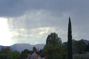 Monsoon Clouds in Boulder City, Nevada