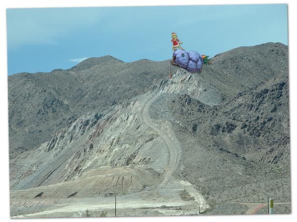 Mount Crumpit near Boulder City, Nevada