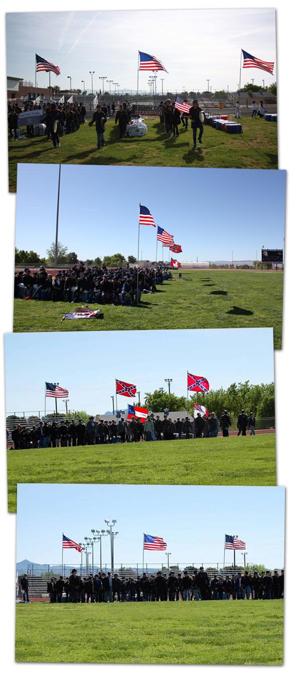Civil War Reenactment in Boulder City, NV