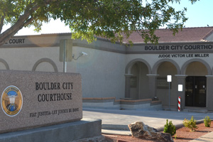 Municipal Courthouse in Boulder City, Nevada