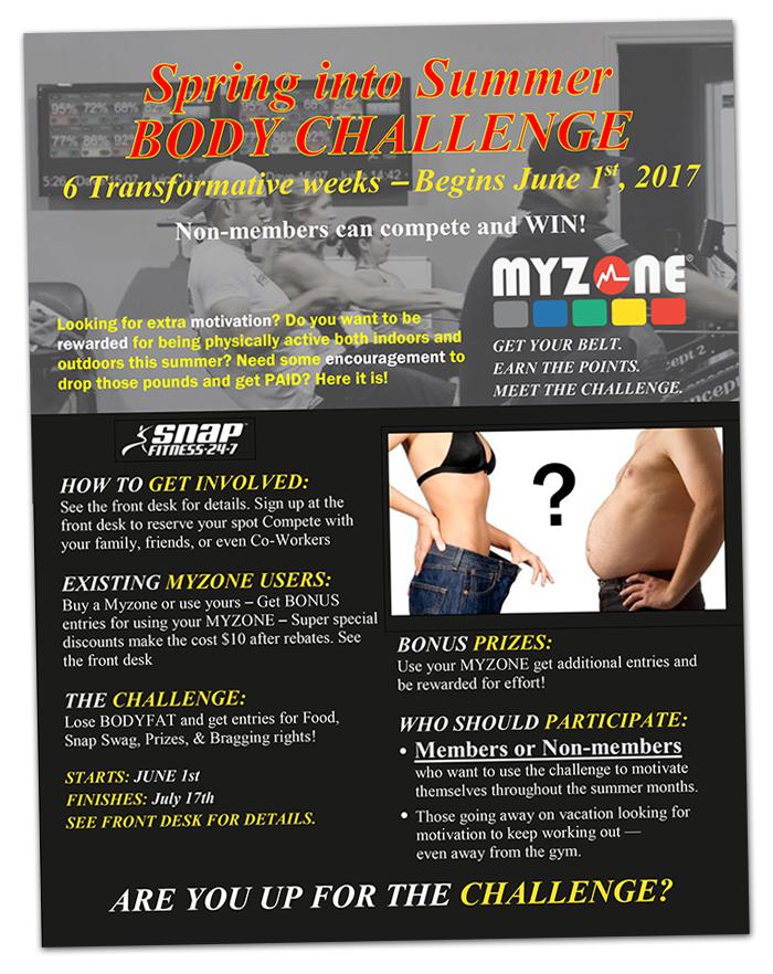 MyZone Flyer