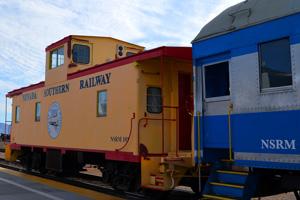 Nevada Southern Railroad in Boulder City, Nevada