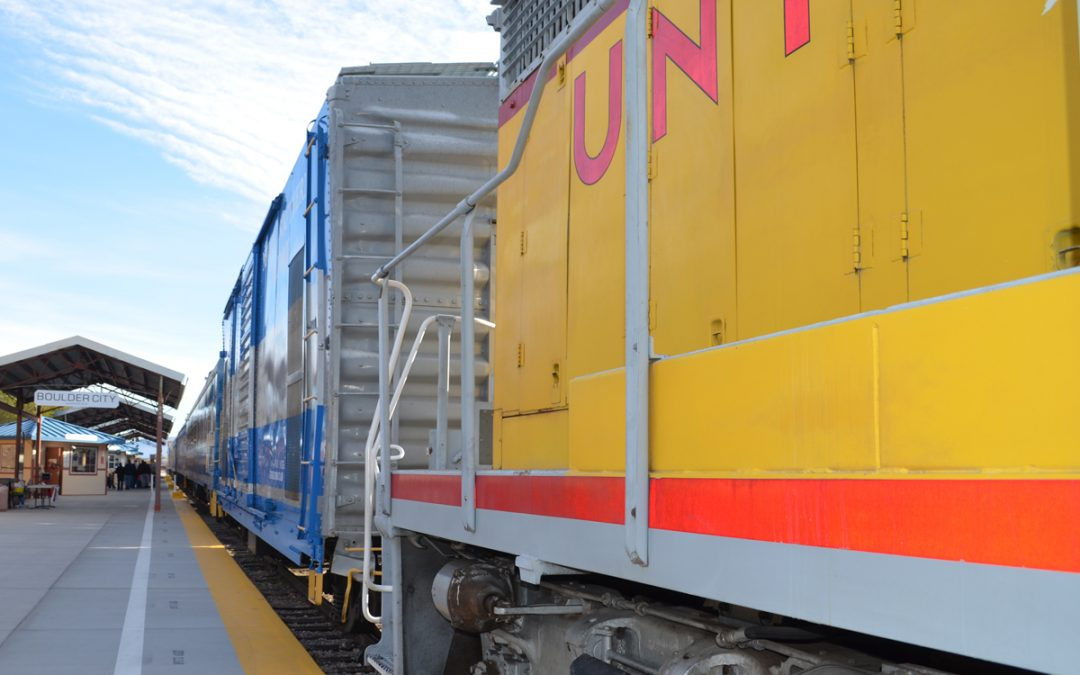 Vax on the Trax Rolls Into Boulder City