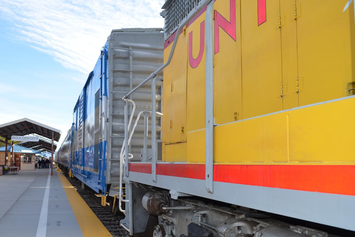 Nevada Southern Railway Train Boulder City