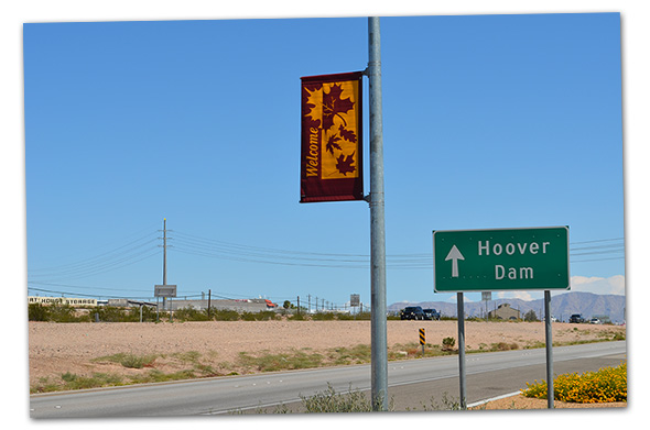 Nevada Way Banners in Boulder City, Nevada