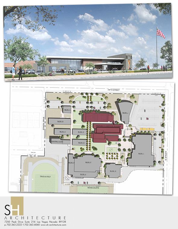 New Boulder City High School Classrooms 2014