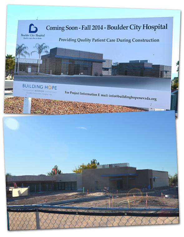 Boulder City Hospital Construction in Boulder City, Nevada