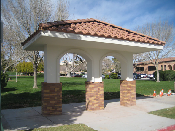 New Bus Shelters in Boulder City, NV