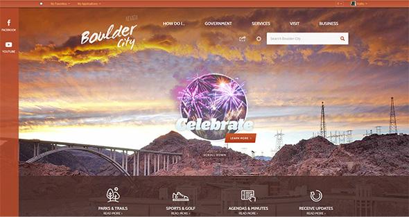 City Of Boulder City, Nevada Website