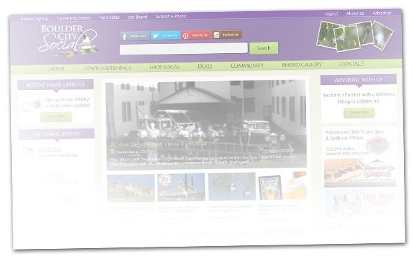 New Boulder City Social Website Teaser