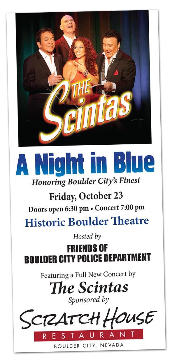 A Night In Blue in Boulder City, Nevada