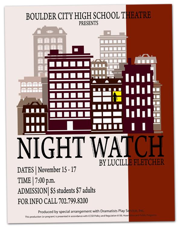 Boulder City High School Theatre - Night Watch
